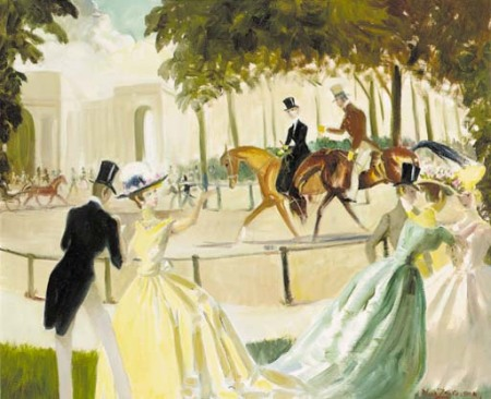 doris-zinkeisen-afternoon-promenade