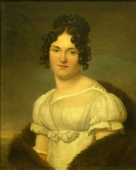 Henri - François Riesener 1767 - 1828, Portrait de femme