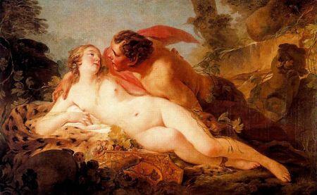 Jean-Baptiste_Marie_Pierre_-_Jupiter_et_Antiope v.1752, musée du Prado Madrid