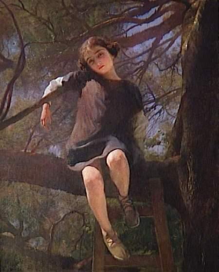 Leroy Paul 1860-1942, Dans les branches du grand pin Provance, mBA Orléans