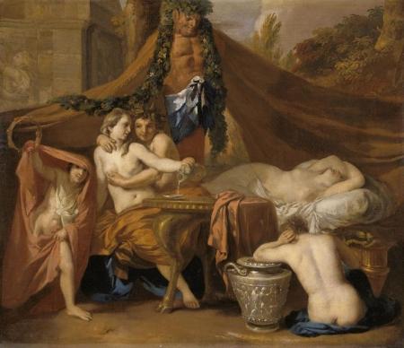 Gérard de Lairesse 1640-1711 Bacchus et Ariane,, musée Magin Dijon